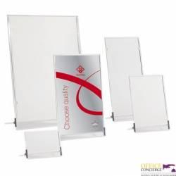 Tabliczka stojąca jednostronna 15x23cm 0403-0008-00 PANTA PLAST