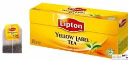 Herbata Lipton Yellow Label tea 25 torebek