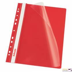 Skoroszyt wpinany ESSELTE czerwony 13585 10szt. w folii