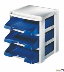 Moduł na trzy półki LEITZ Plus niebieska LEITZ 53270035