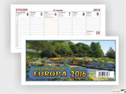 Kalendarz biurowy EUROPA B4 BESKIDY