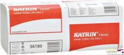 Ręcznik ZZ KATRIN biały 36180 2w 20x150listk CLASSIC 431468/65944 karton
