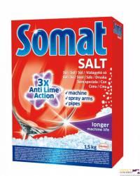 Sól do zmywarek SOMAT 1.5kg machine