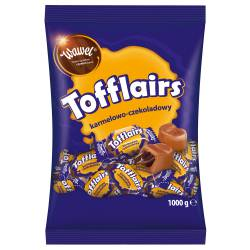Cukierki WAWEL karmelowo czekoladowe Tofflairs 1 kg